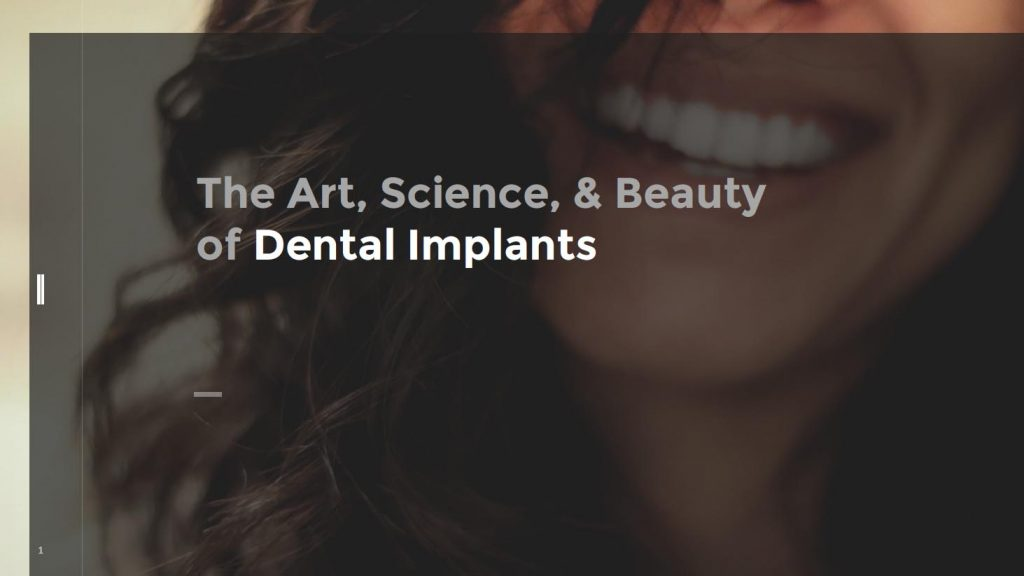 dental implants eBook cover